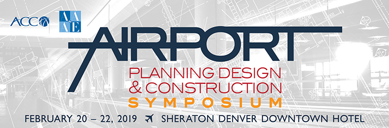 Save the date! Feb. 20 – 22, Join Us at the ACC/AAAE Airport Planning, Design and Construction Symposium