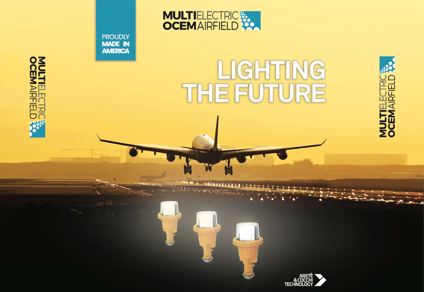 June 16 – 19, MULTI ELECTRIC- OCEM AIRFIELD showcases at the 91st Annual AAAE Conference & Exposition
